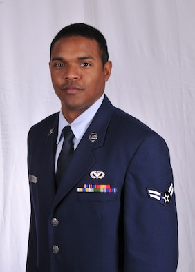 Senior Airman Joseph L. Gilford, 166th Civil Engineer Squadron, 166th Airlift Wing, is the Delaware Air National Guard Outstanding Airman of the Year for FY2012. He was the 166th Airlift Wing Airman of the Quarter for the 3rd Quarter of FY2012. (U.S. Air Force photo/Staff Sgt. Nathan Bright)