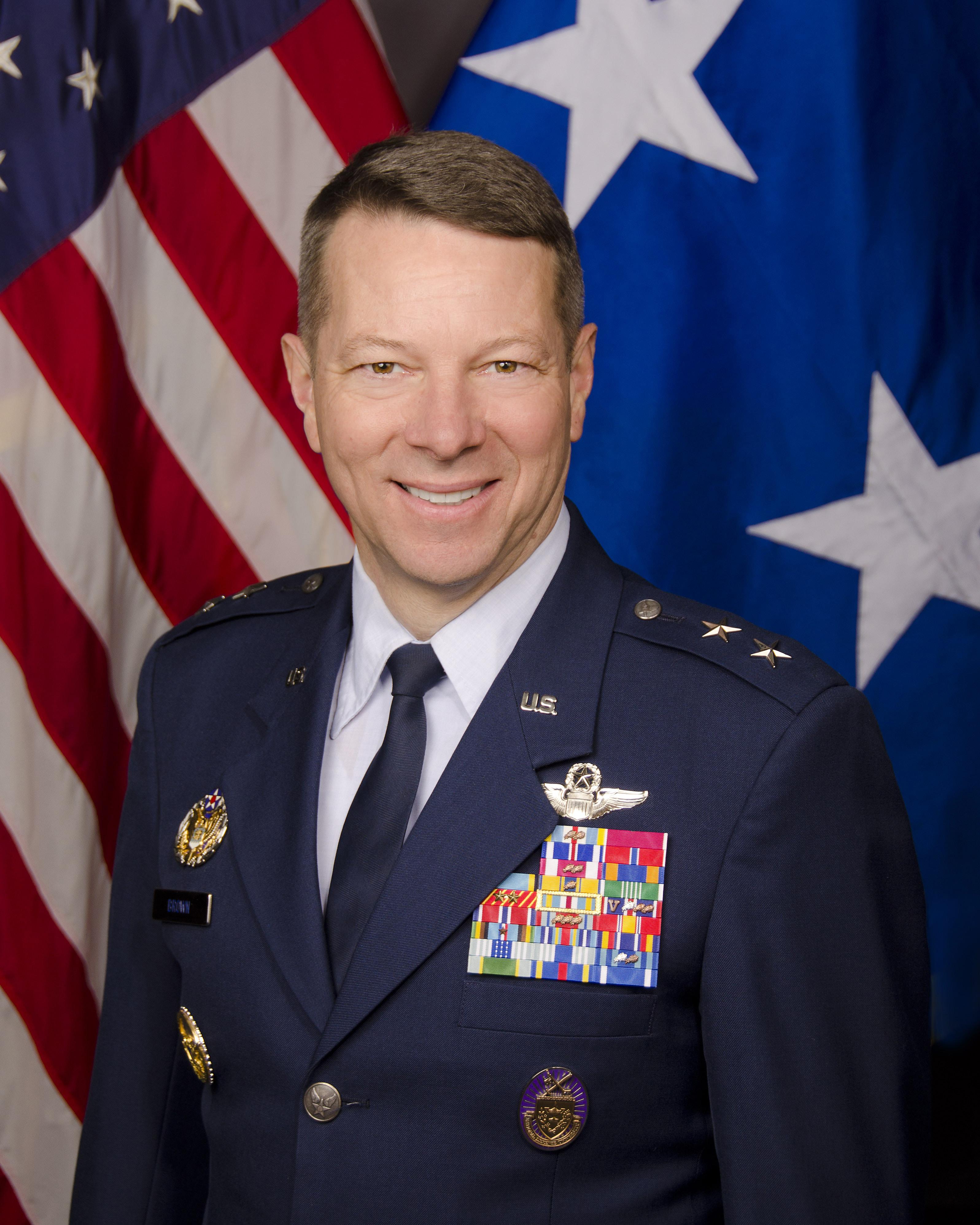 major general joseph d brown iv u s air force biography display