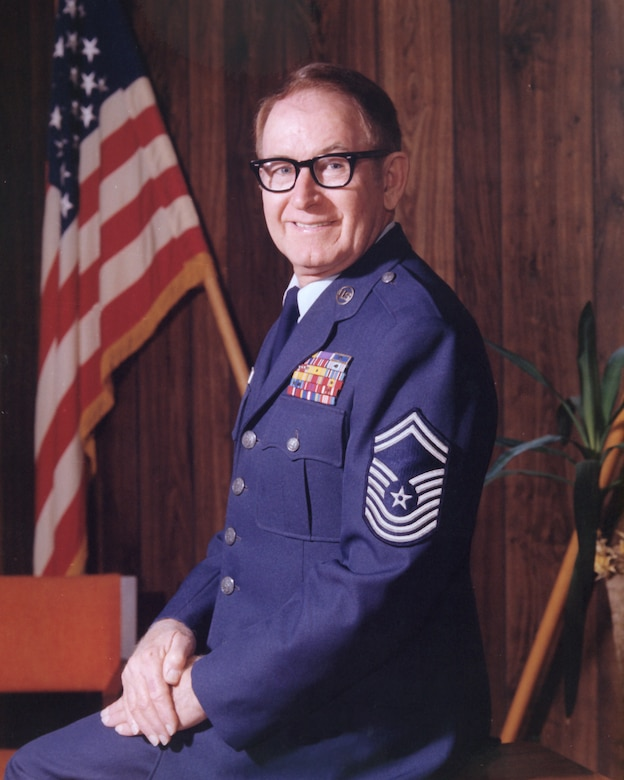Chief Master Sgt. Paul H. Lankford was a survivor of the Bataan Death March in the Philippine Islands and in a Japanese prison camp for three years who went on to help stand up the Air National Guard's premiere school for enlisted leadership. The Paul H. Lankford Professional Military Education Center at McGhee Tyson Air National Guard Base, Tenn., is his legacy. Lankford served as commandant from 1968 to 1981. He passed away in 2008 with more than 42 years of service in the active duty Air Force and Air Guard. (U.S. Air Force file photo/Released)