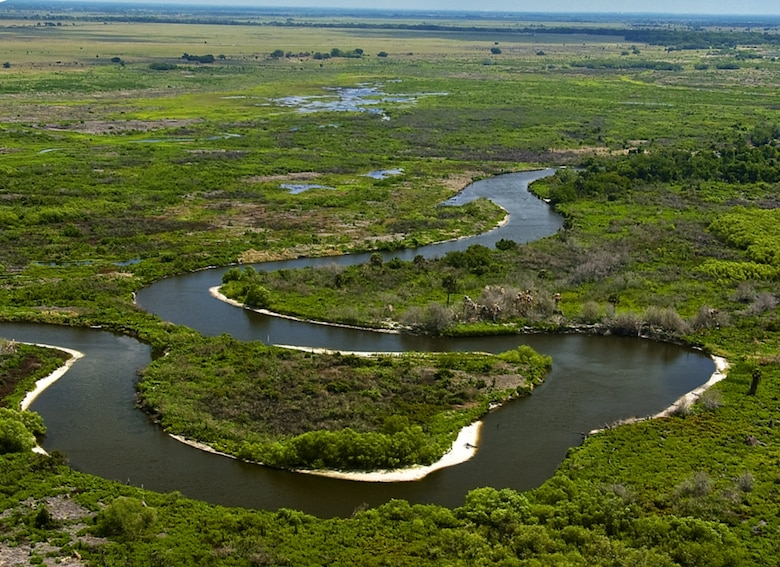 Work continued on the Kissimmee River Restoration project, and the Reach 4 Backfilling portion of the project received an Environmental Merit Award in the 2012 Chief of Engineers Awards of Excellence Program.