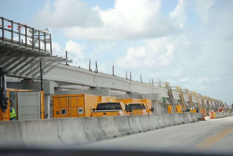 Construction of the $81 million Tamiami Trail project began in 2010, with the first concrete pour on the bridge deck taking place in July 2012. A one-mile bridge and 9.7 miles of raised and reinforced road will allow increased water flows essential to the health and viability of the Everglades.