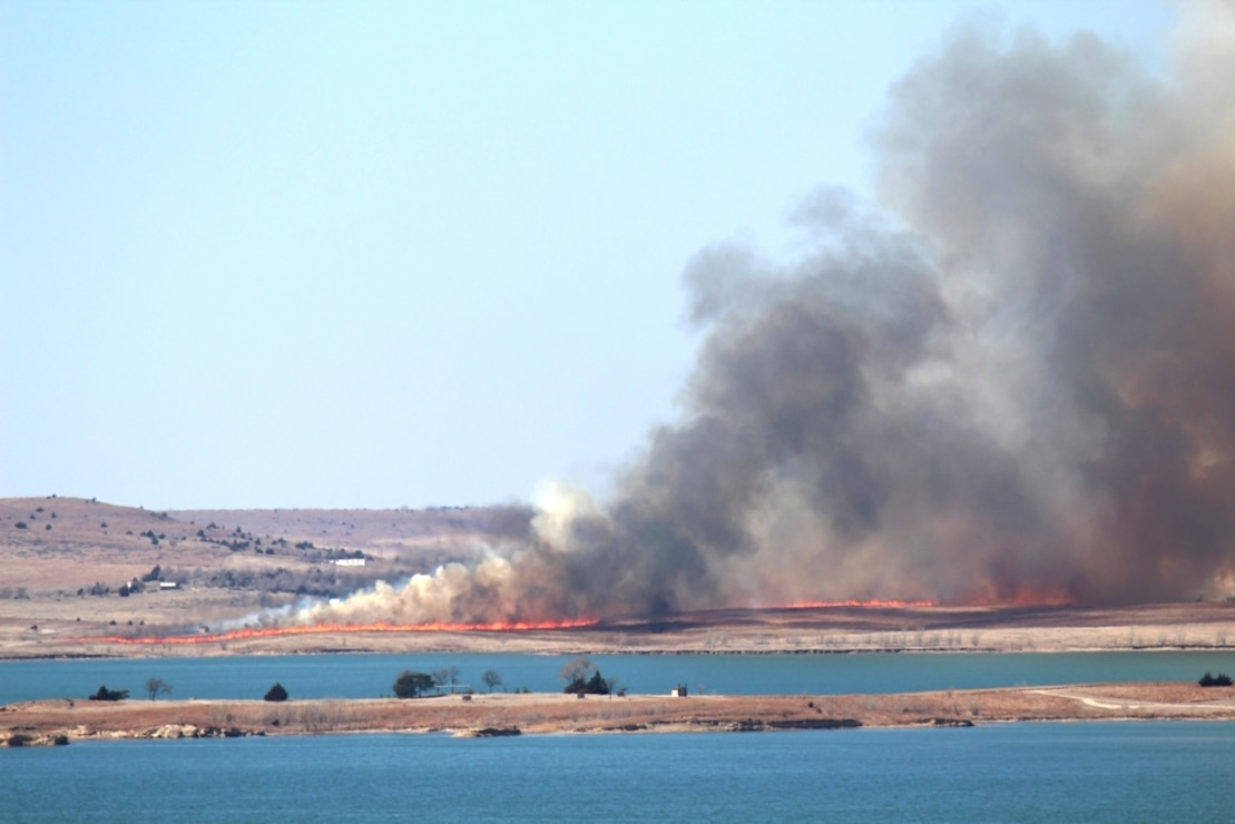 Minooka Park Prescribe Burn