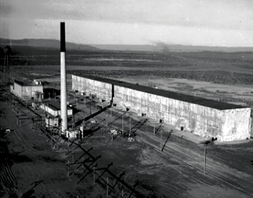 "B Reactor was the first reactor built on the Hanford Site and was also the first full-scale reactor in the world (pictured above, ""T"" plant building)."