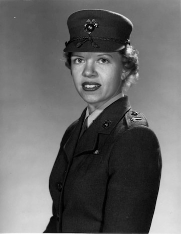 Capt. Margaret A. Brewer is pictured here Nov. 25, 1958. Brewer went on to become the first female Marine general May 11, 1978.