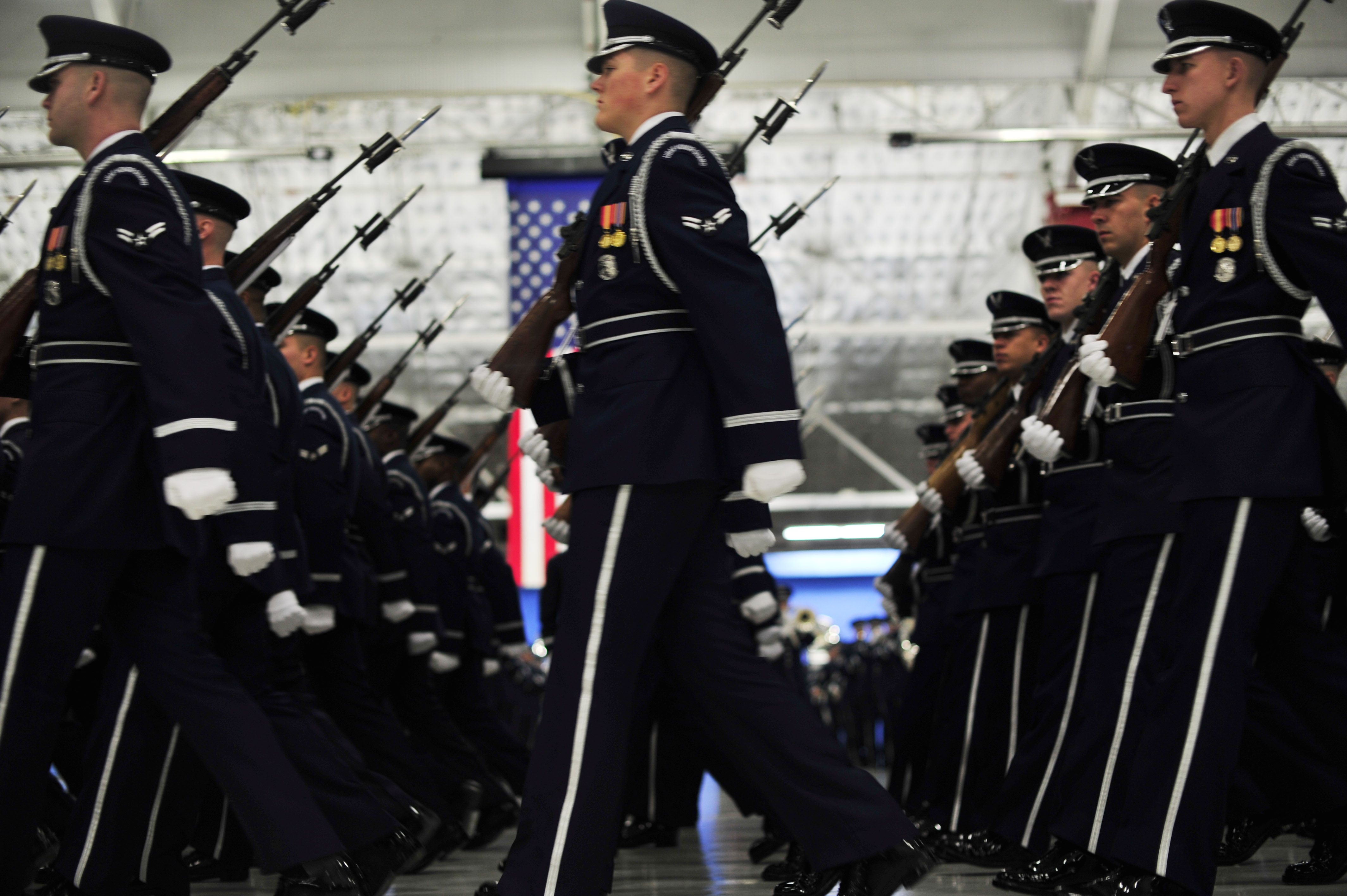 ... of 1. The U.S. Air Force Honor Guard ...