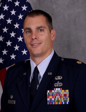 Maj. Frank T. Skrypak, 65th Comptroller Flight commander