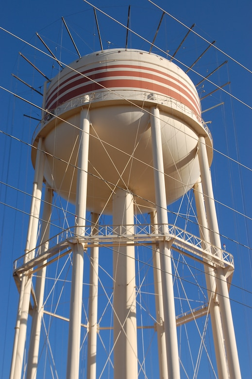 A $1.26 million repair project to repaint and repair the elevated water storage tank here is & Dyess revitalizes water tower u003e Dyess Air Force Base u003e Article Display