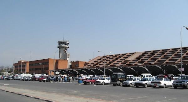 Kathmandu's Tribhuvan International Airport.