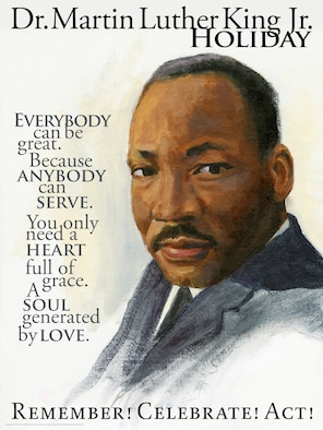 DEOMI 2013 Dr. Martin Luther King Jr. Holiday Poster