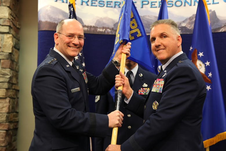 ARPC hosts change of command > Air Reserve Personnel Center