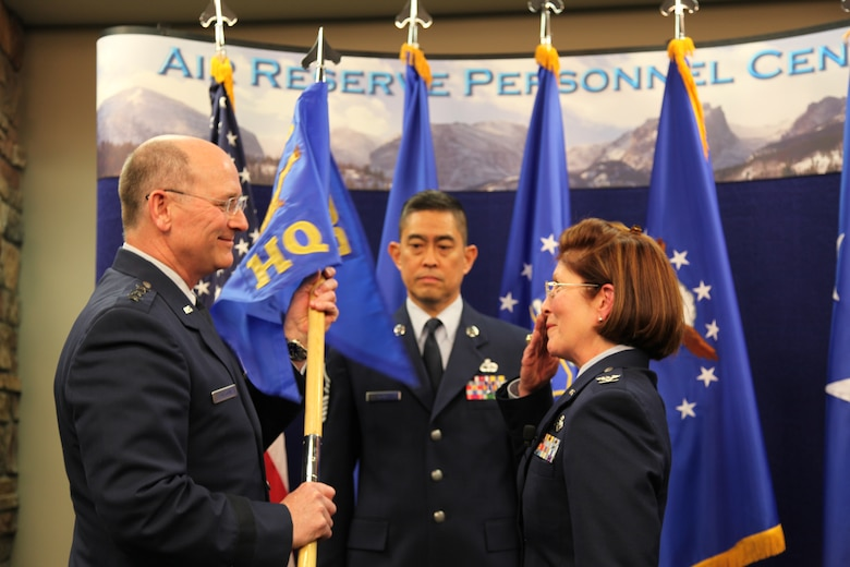 Flournoy takes command at Air Reserve Personnel Center > Air