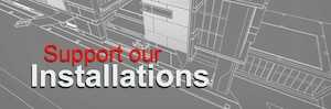 Support our Installations