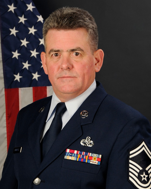 Senior Master Sgt. Robert Thibault, with the 169th Aircraft Maintenance Squadron at McEntire Joint National Guard Base, S.C., poses for his portrait on Jan. 13, 2013. Senior Master Sgt. Thibault was selected as the (Traditional) 169th Fighter Wing Senior Non Commissioned Officer of the year for 2012.(National Guard photo by Tech. Sgt. Caycee Watson/Released)