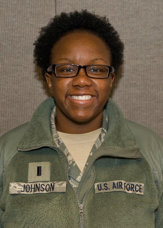 """""""I think it's okay if women are placed in direct combat positions in the military. I just think those individuals need to be made aware of the dangers they are going to face, the Physical Fitness test criteria and different challenges they might face wherever their mission leads them. I don't think all women want to do it, but those who do should be allowed to try and make it on the team.""""- 1st Lt. Keturah Johnson, 7th Force Support Squadron"""