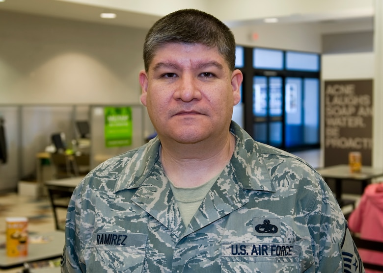 """""""I'm all for it. I believe the most qualified person should be accepted, whoever it is.""""- Master Sgt. Ruben Ramirez, 7th Component Maintenance Squadron"""