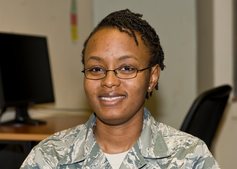 """""""I feel that if a woman would like to be in combat, let her be in combat. However, as a woman who doesn't want to be in combat, I wouldn't want this to affect me in a way that I can be forced to retrain into a combat position.""""- Staff Sgt. Betty Johnson, 7th Bomb Wing"""