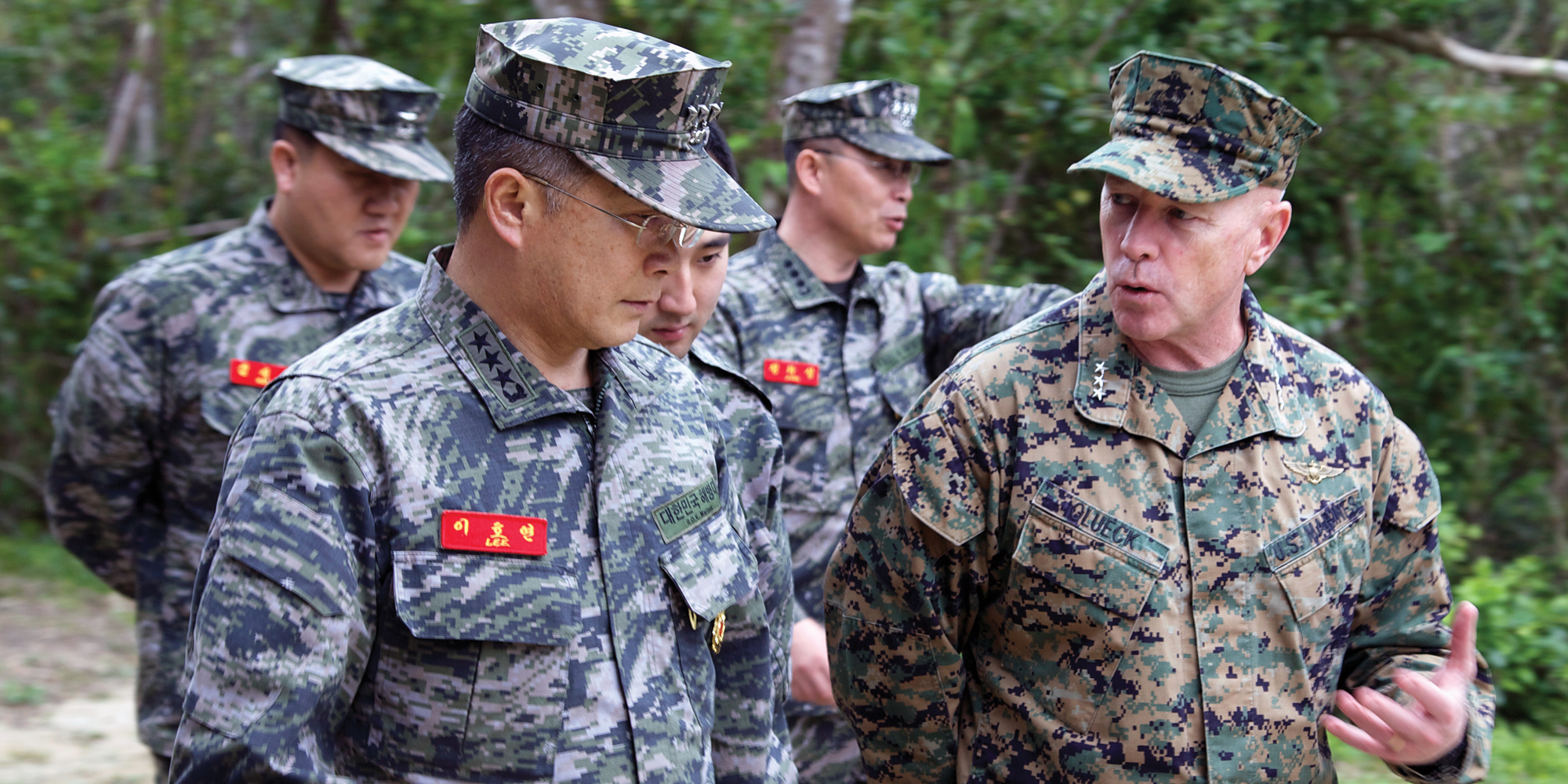 ROK Marine leader visits > Marine Corps Installations ...