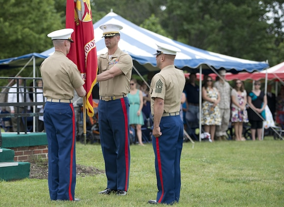 Marine Cryptologic Support Battalion welcomes new commanding