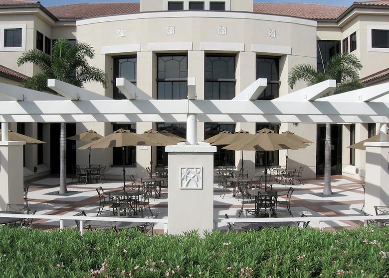 Davis Conference Center terrace