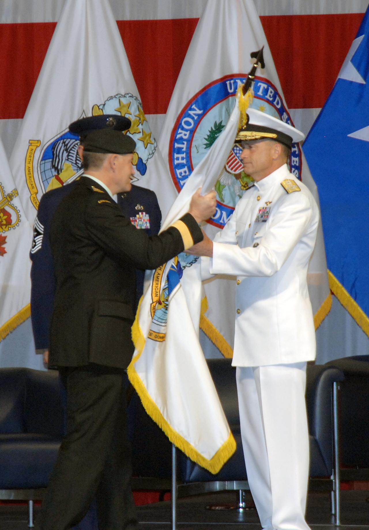 Adm  Winnefeld takes command of NORAD, U S  NORTHCOM > U S