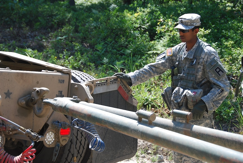 Patriots Play Role In Contingency Expeditionary Force