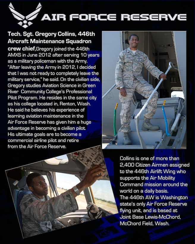 Armed Ready To Serve: How We Serve TSgt Gregory Collins
