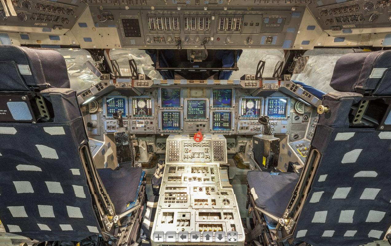 space shuttle interior tour - photo #46
