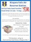 NFARS Annual Feds Feed Families Food Drive July 15 - August 5, 2013.