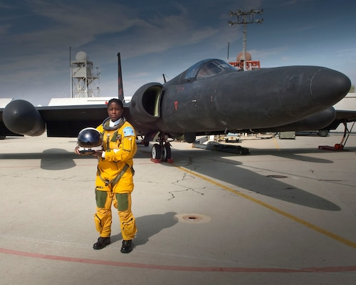 Lt. Col. Merryl Tengesdal, currently stationed at the North American Aerospace Defense Command and U.S. Northern Command, was the first African American woman to fly the U-2 reconnaissance plane.