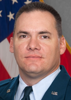 "Maj. John ""Mark"" Klohr, 71st Logistics Readiness Squadron commander"