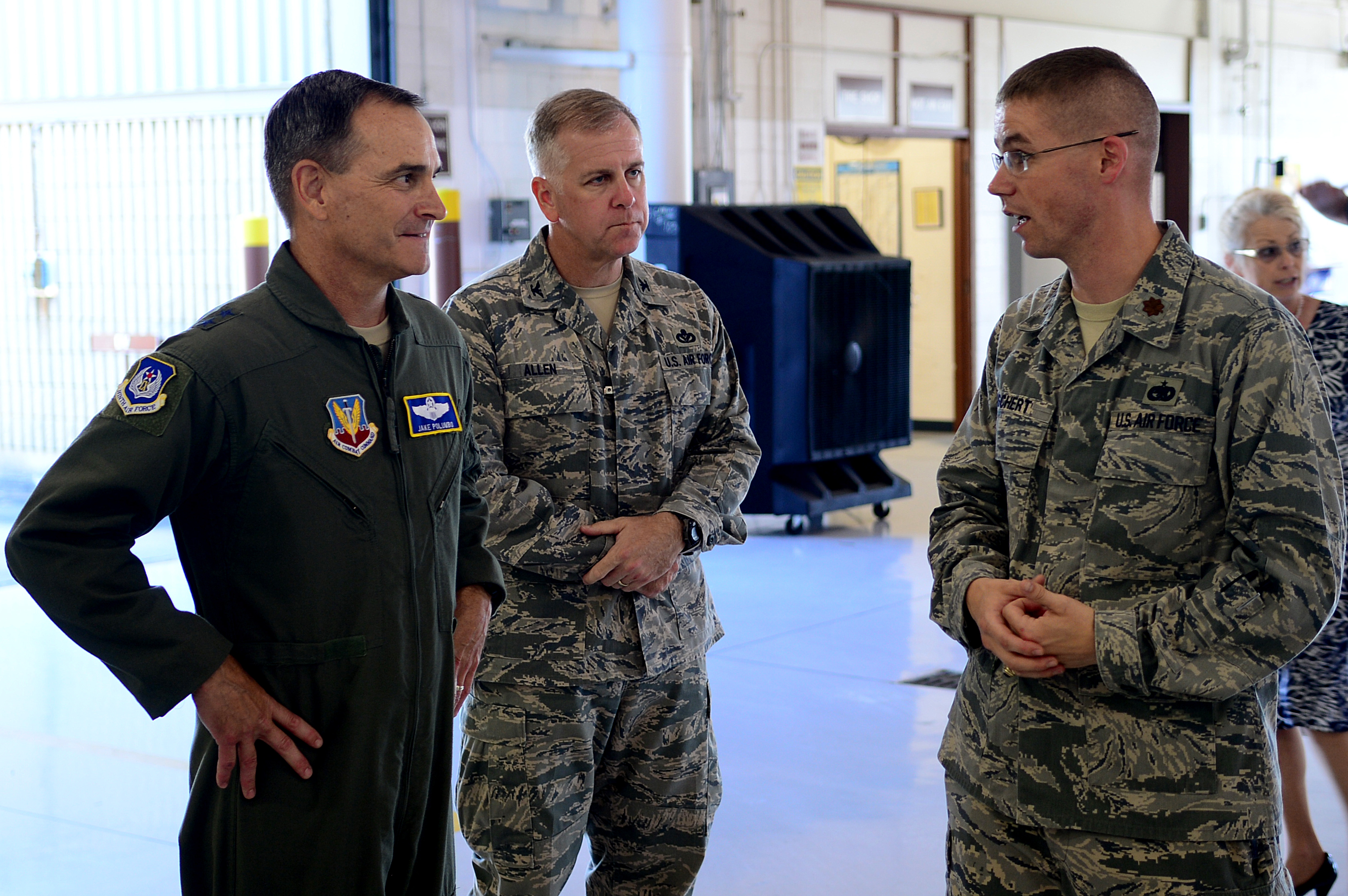 833rd aero squadron - 9th Air Force Commander Visits Jble