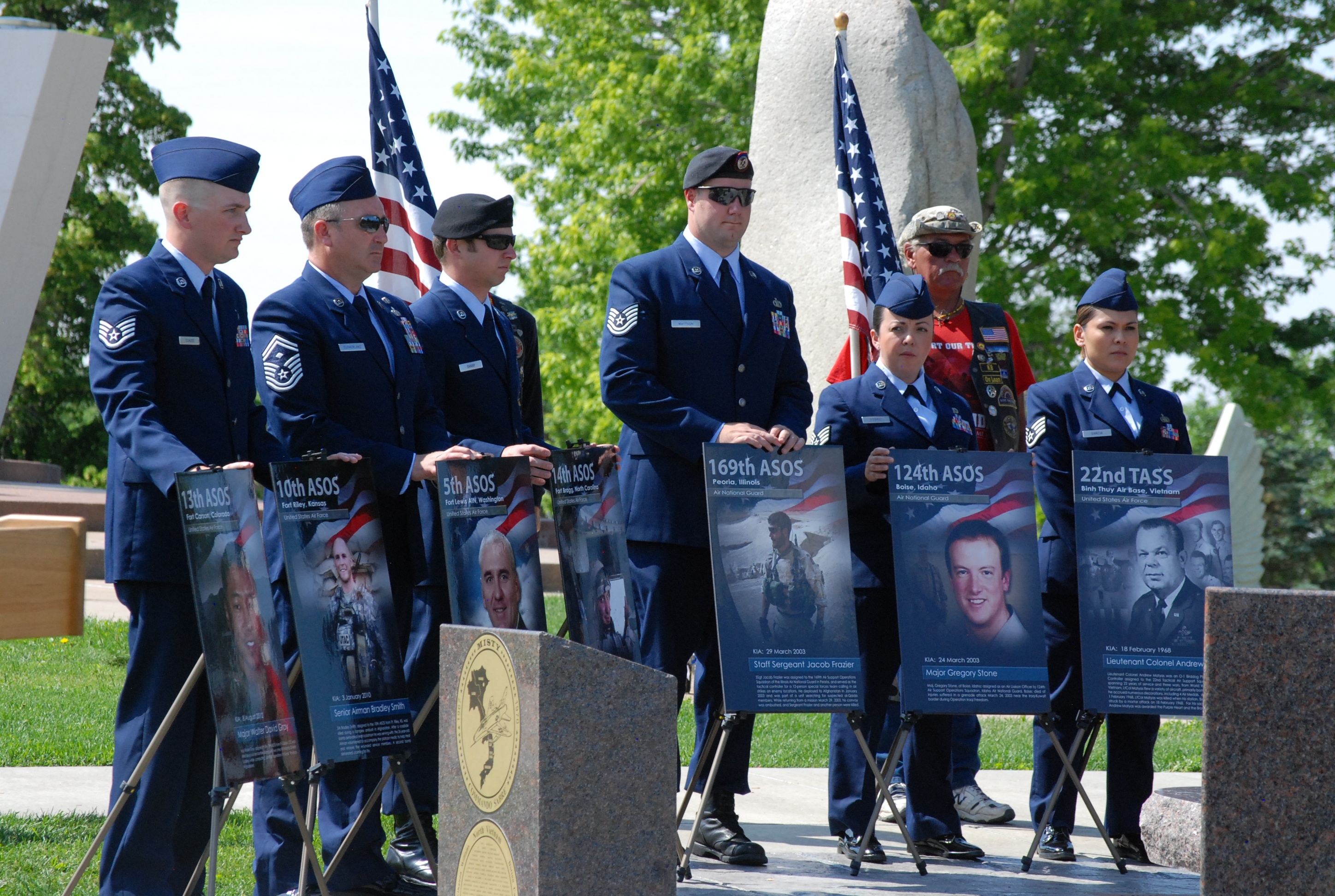 TACP service members honored at Colorado Springs Veterans Memorial ...