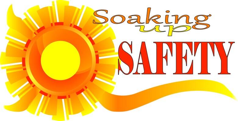 Soaking up safety.