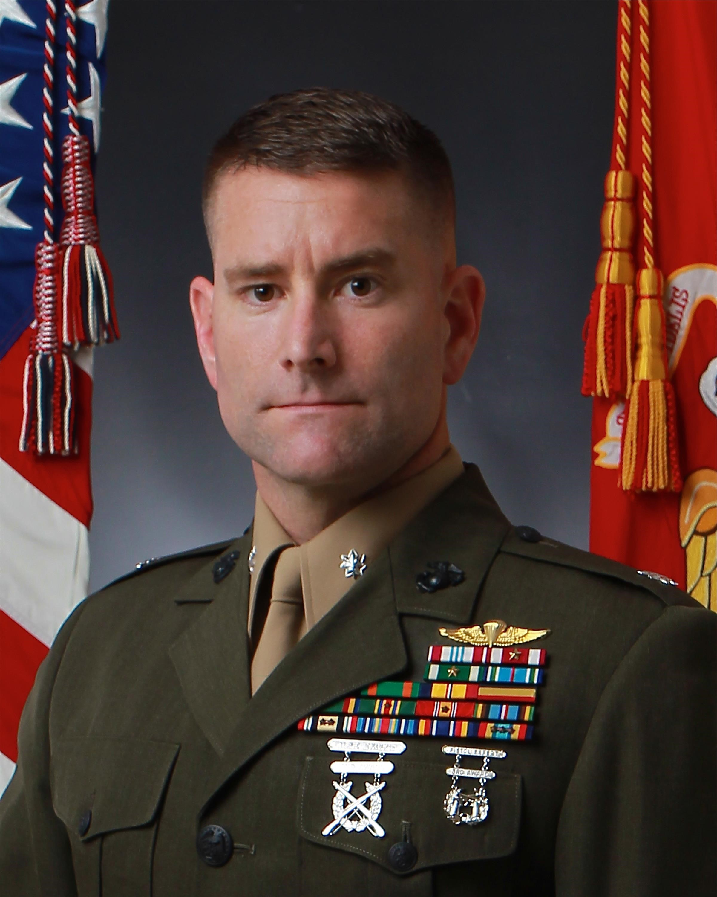 Lieutenant Colonel Brian Rideout > Marine Corps Forces Special ...