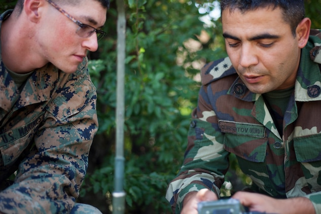 BSRF-13, Azerbaijan's OCC Battalion Facilitate Communications In