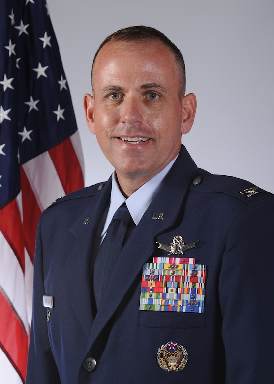 Col. Mitch D. Stratton, 460th Space Wing vice commander. (U.S. Air Force courtesy photo)