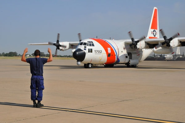 The remaining military aviation unit at the Former McClellan AFB is home to the Coast Guard Air Station Sacramento which operates four HC-130 Hercules fixed-wing aircraft with 189 personnel assigned to the unit.