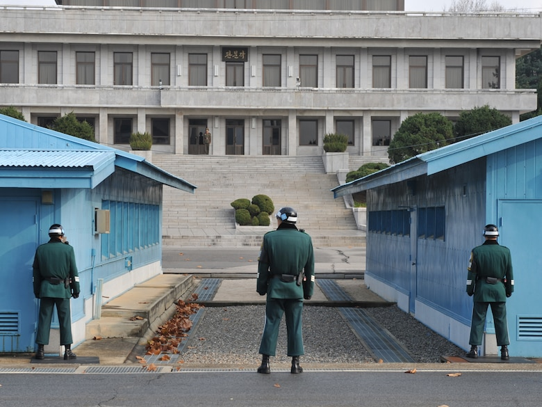 The Korean Demilitarized Zone and Joint Security Area were created by the armistice that was signed in 1953. (U.S. Army photo/Sgt. Park Youngho)