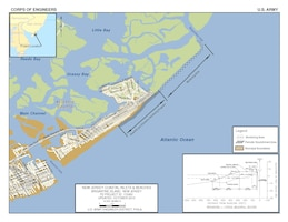 The Brigantine Island project consists of berm and dune restoration along approximately 1.8 miles of coastline fronting the northern third of the city.
