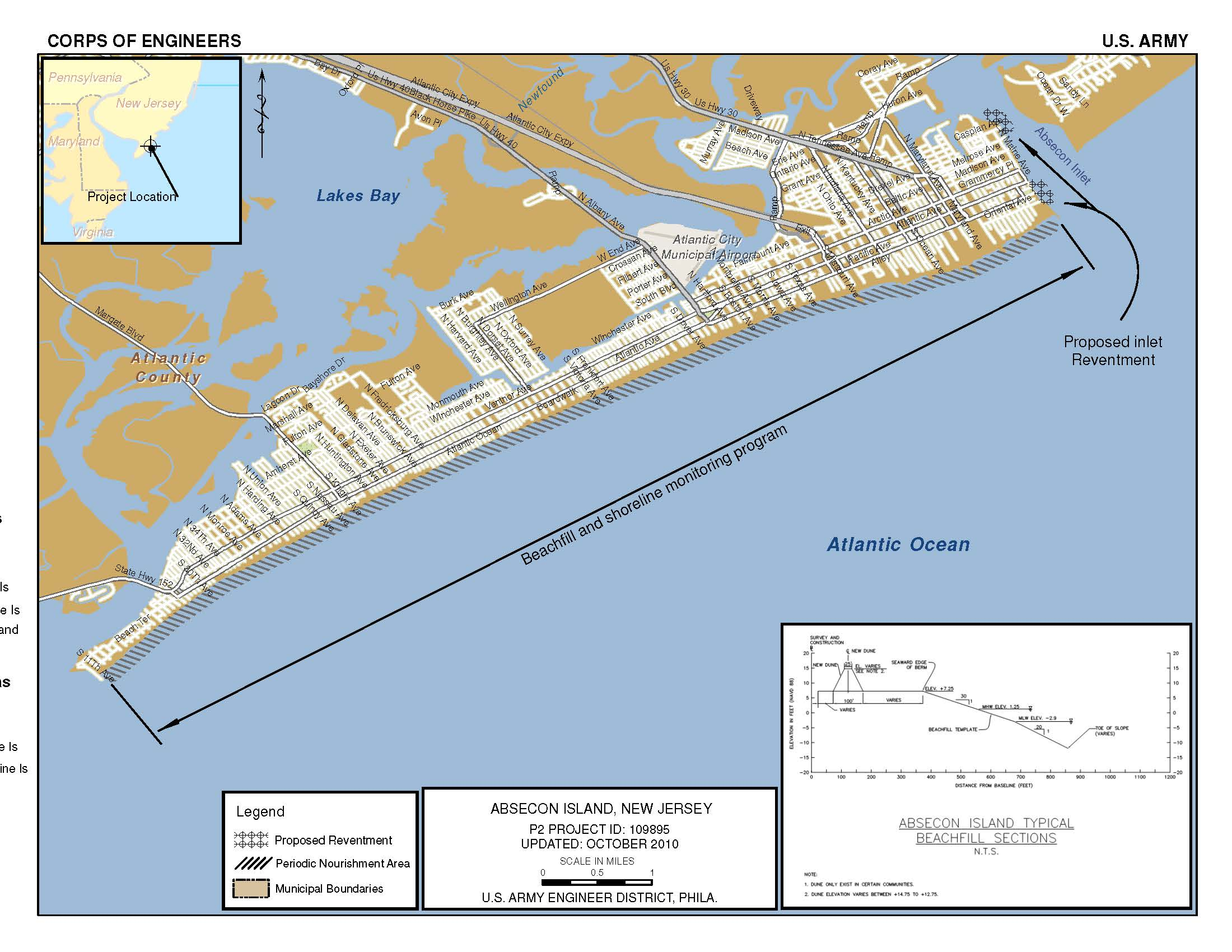 New Jersey Shore Protection Brigantine Inlet To Great Egg