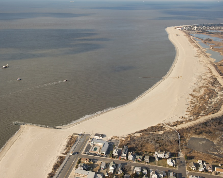 The U.S. Army Corps of Engineers and partners completed the 2nd periodic nourishment cycle of the Lower Cape May Meadows – Cape May Point project in January 2013.