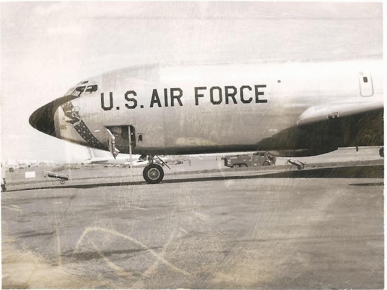 KC-135 Stratotanker #58-0016 from 1962-63. (Courtesy photo)
