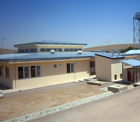 The U.S. Army Corps of Engineers completed construction of a new Afghan Uniform Police district headquarters facility in Qala I Naw 120 days ahead of schedule.