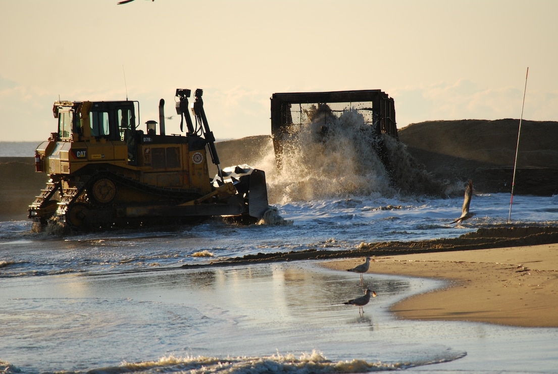 The Fenwick Island Coastal project was initially constructed in 2005. The project is designed to reduce storm damages.