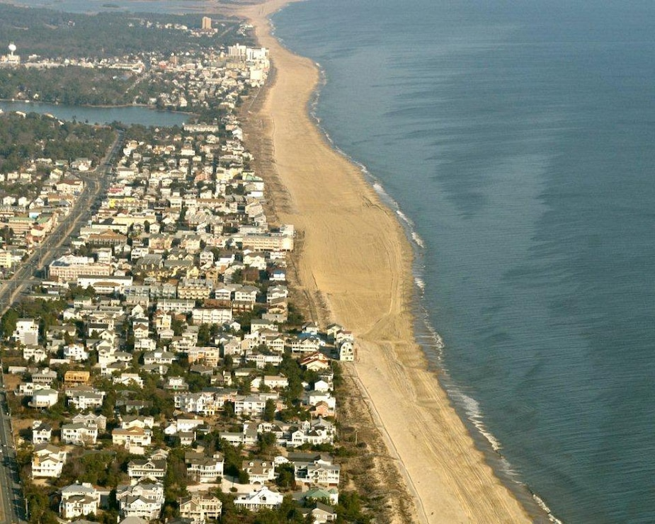 The Rehoboth and Dewey Coastal project was inititally constructed in 2006. The project is designed to reduce damages from coastal storms.