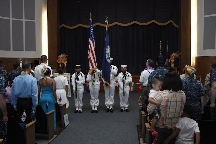 An Asian American and Pacific Islander Heritage Month program was celebrated at the Naval Hospital Beaufort's auditorium, May 30.   The event was sponsored by the Tri-Command Special Emphasis Committee, which studies issues concerning discrimination and equal opportunity for minorities, women and the disabled.