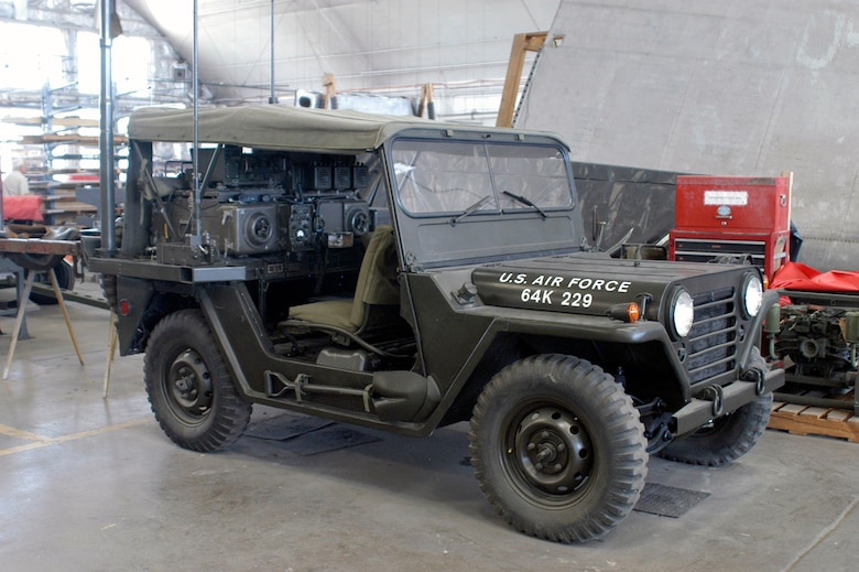 DAYTON, Ohio (06/2013) -- Volunteers have nearly completed restoration work on the M151 Jeep. (U.S. Air Force photo)