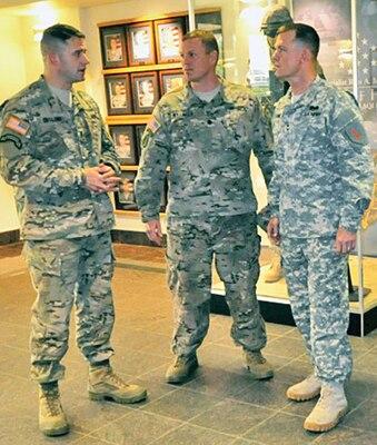 Commanding General Visits Duke Brigade Fort Riley Kansas
