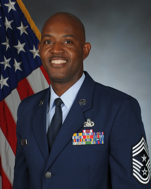 Chief Master Sgt. Cameron B. Kirksey (pictured), previously the command chief for the 482nd Fighter Wing, Homestead Air Reserve Base, Fla., replaces Chief Master Sgt. Kathleen Buckner as the next AFRC command chief. Lt. Gen. James F. Jackson, chief of Air Force Reserve and AFRC commander, selected Kirksey for the top enlisted spot in the command. (U.S. Air Force photo)