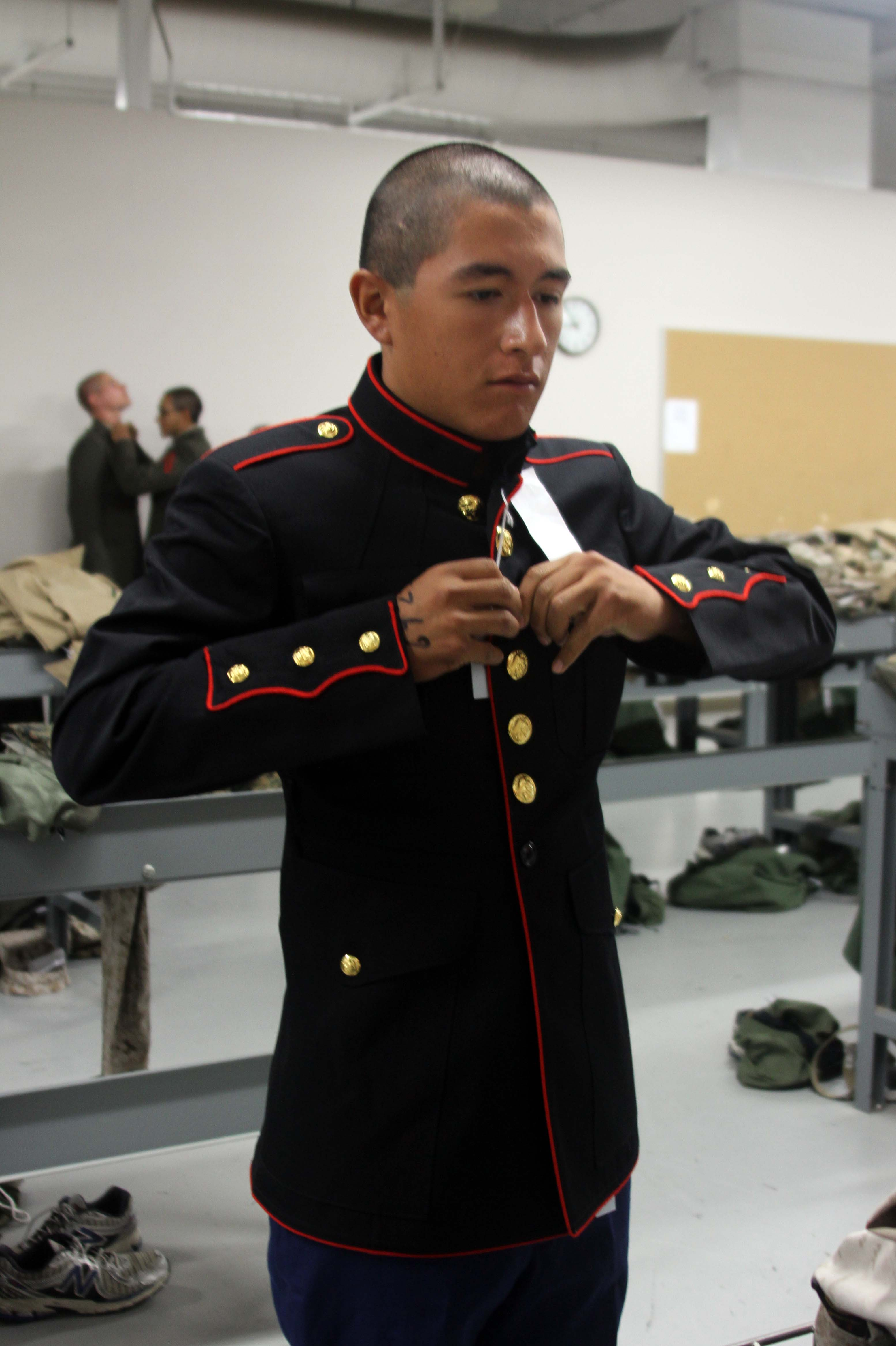 With Uniform Comes Pride Marine Corps Recruit Depot San Diego News
